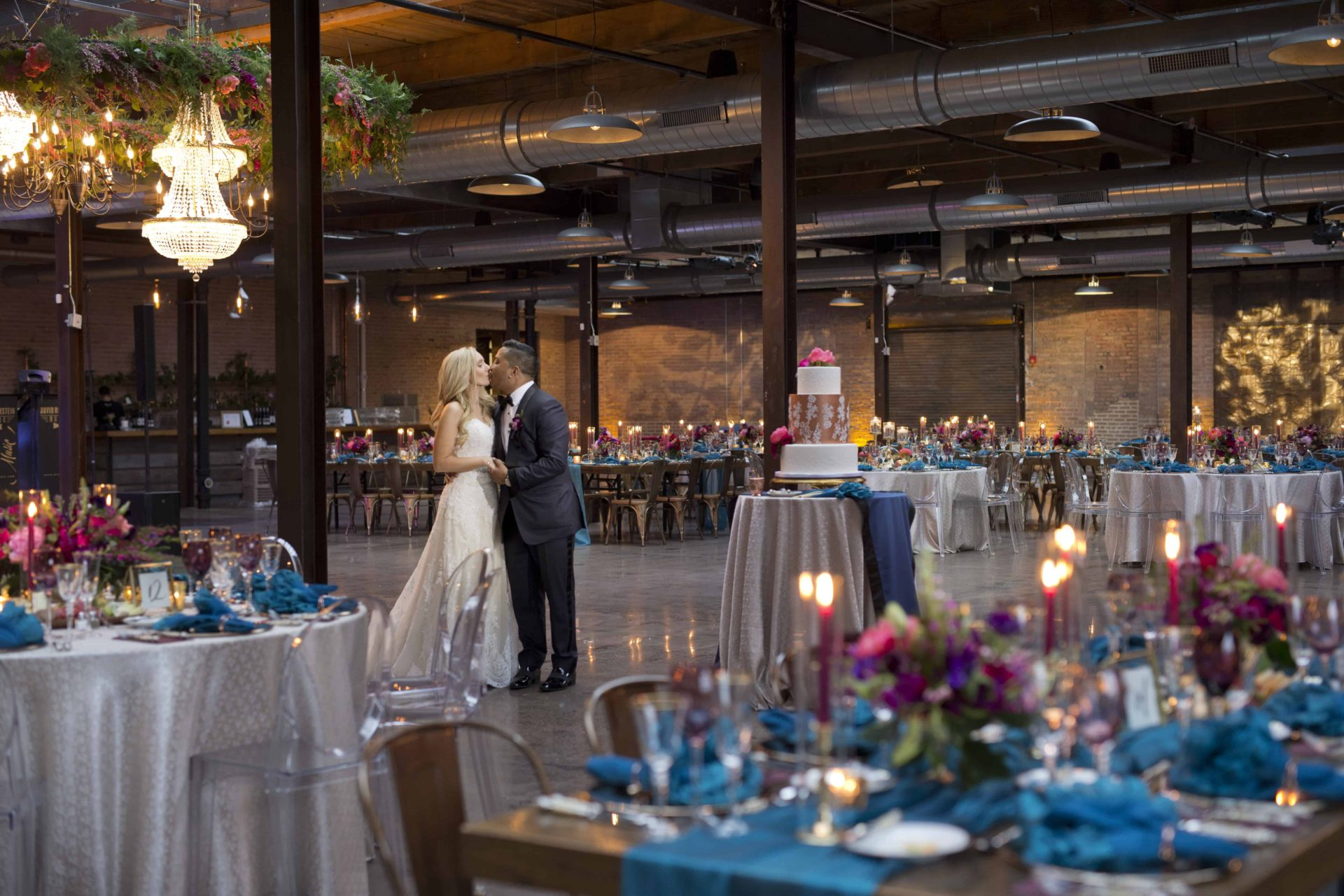 Wedding at Morgan Manufacturing